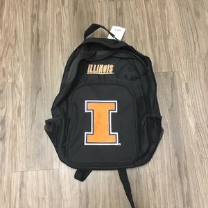 Other - Illinois Illini Black Backpack